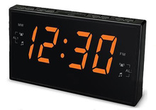 Unique LED talking alarm clock - Hear the Time and date Announced