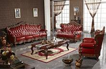 dan xue ya wooden mordern european antique sofa leather sofa