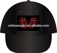 cool sports hats built-in Bluetooth headphones music hat led snapback hats