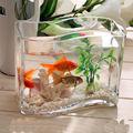 hecho a mano arcylic de vidrio transparente tanque de los pescados