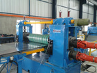 metal material automatic roll slitting machine