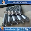 Alta qualidade de titânio bar/haste preço astm b348 peso de titânio rodada barfor do sal