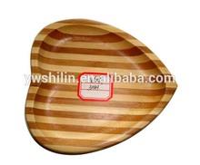 New design 100% handmake bamboo serving trays for hotel