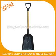 Wood handle and PVC Grip Shovel Spoon, Snow Shovel