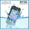2014 New sublimation Waterproof Phone Case for iPhone 5/5S, new waterproof cell phone case for iPhone 5S