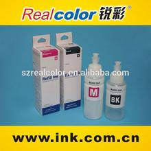 Hot sale 100ml 70ml special dye ink for epson L100 L110 L200 L210 L350 L355 L555 L800
