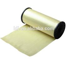 280g/sqm Aramid UD fiber fabric, aramid fiber fabric., undirectional aramid fiber cloth for construction