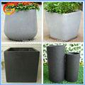Hogar y jardinería de plantas de vivero, de fibra de vidrio macetas de plantas