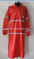 al aire libre chaqueta a prueba de agua de lluvia de moda abrigo para las señoras