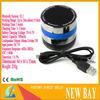Mini Super Bass Bluetooth TF Slot Handfree Mic Metal Stereo Portable Speakers