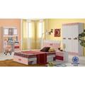 Simples sala de crianças cama adolescente cama com armazenamento 565A