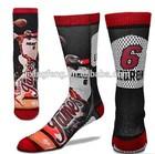 All over print custom basketball sublimation socks