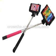 new gadgets 2015 Selfie stick Bluetooth flexible adapter telescope