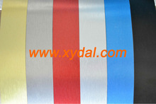 color coated brushed aluminum coils