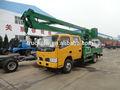dongfeng 4x2 18m aérea cubo de camiones con la cesta