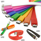 Cheap Colourful Promotion Gift bracelet 32gb usb flash drive,32gb usb flash drive