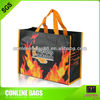 2014 new arrive recycle pet non-woven shopping bags