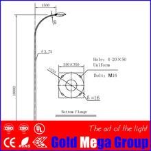 Road lamp post