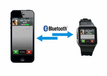 for sony smart watch with bluetooth for Cellphones Whatapp/skype/SMS new sync