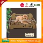 Textile Fabric Velvet Luxury Wooden Dog Bed
