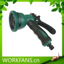 hot sale hose connector garden spray gun for lawn or car water wash