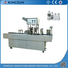 Plastic Bottle Milk Filling and Sealing Machine