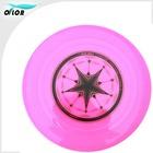 """China mini 9"""" promotional frisbee,PVC shiny frisbee on sale!!!"""