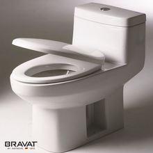 Bravat P/S-Trap Water saving design toilets with built-in bidet