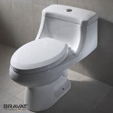Hot sale push botton flush Washdown toilet seat cover