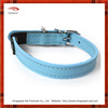 custom Blue Litchi stria dog collar/dog accessories