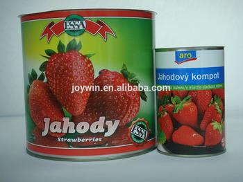hot sale newly season canned strawberry