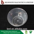 Promocional 500 ml PP rodada descartável microondas caixa de almoço