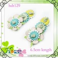 2014 colorful PU flower for sandal,handmade PU flower decoration