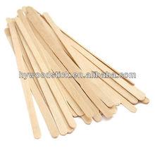 Pollution-Free Natural Wooden Plain Coffee Stir Sticks