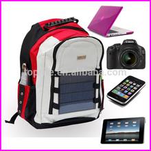600D Camping Hiking Outdoor Travel Solar Shoulder Bag