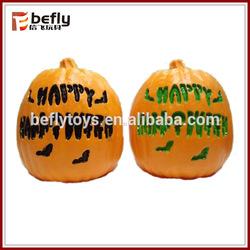 LED halloween plastic craft pumpkins decorative