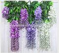 Ingrosso artificiale a buon mercato glicine fiore(am- ly01)
