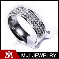 Latest unisex fashion diamond womens rings for gift