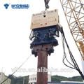 yz300 hidráulico pilotes máquina vibro martillo