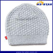 Hzm-10547 2015 романа практической топ-дизайна серый крючком простой и удобный шапка