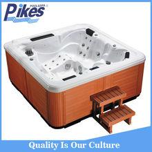 Fiberglass hot tub shells, parts for hot tubs