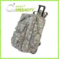 Camo Outdoor Trolley Backpack