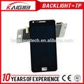 a basso costo grande touch schermo lcd del telefono mobile per samsung i9100 s2 con prezzo di fabbrica