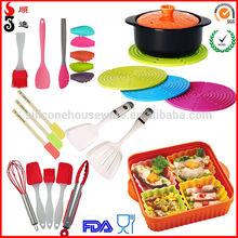 OEM manufacturer custom branded silicone kitchen utensils
