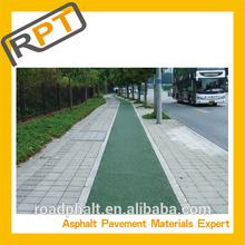 Colored asphalt concrete pavement cold color asphalt