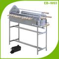 EB-W03 pincho para barbacoa de acero inoxidable, girador de kebab, parrilla de barbacoa