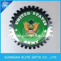 2016 high quality custom car grille metal badges,metal car emblem cover for sale
