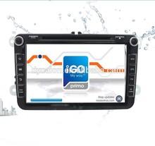 SKODA OCTAVIA 2012 Auto GPS with SWC Canbus