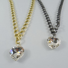 N072 The Heart of the Ocean necklace crystal Titanic jewelry 2014 Rhodium plating fashion heart necklace Costume jewelry