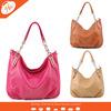 AL-120058 Fushia woman bag 2015 imitation leather handbag